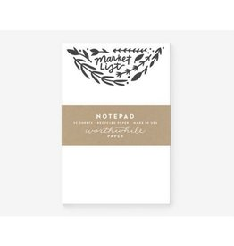 Worthwhile Paper Herb & Floral Note Pad
