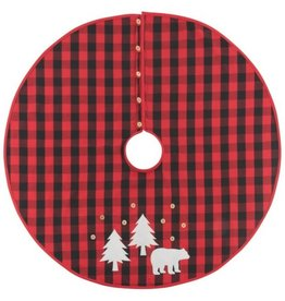Now Designs Buffalo Check Tree Skirt