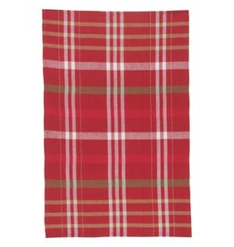 Now Designs Holiday Cheer Check Tea Towels, Set/3