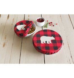 Now Designs Buffalo Check Bowl Covers