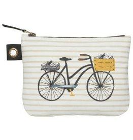 Now Designs Bicicletta, Zip Pouch, Lg