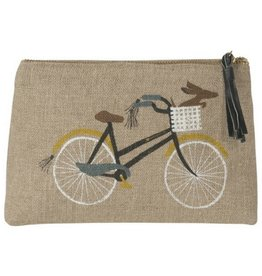 Now Designs Bicicletta, Cosmetic Bag, Sm