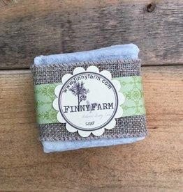 Finny Farm Bar Soap, Lemongrass/Charcoal