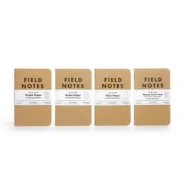 Field Notes Original Kraft Plain, Pack/3