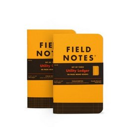 Field Notes Utility Graph Memo Book, Pack/3