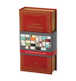 Hachette Book Group Vintage Correspondence Cards, Set/25