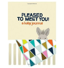 Hachette Book Group Pleased to Meet You Baby Journal