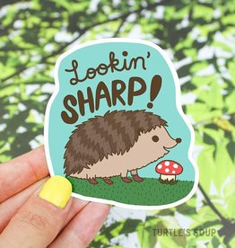 Turtle's soup Turtle: Lookin Sharp Sticker