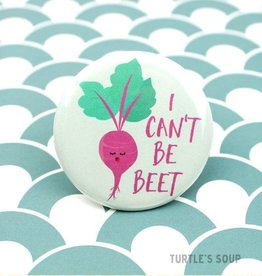 Turtle's soup I Can't Be Beet Pin
