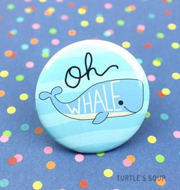 Turtle's soup Oh Whale Pin
