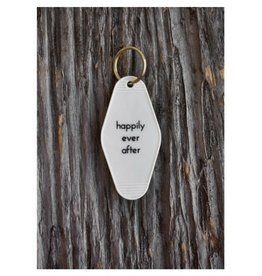 He Said She Said Key Tag - Happily Ever After