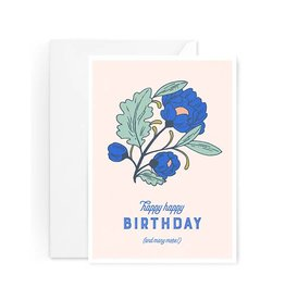 Paper Raven Co. Raven - Floral Birthday