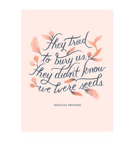 Paper Raven Co. Raven - We Are Seeds Print