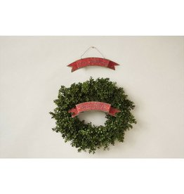 """Creative Co-op Merry Christmas Sign 18""""L"""