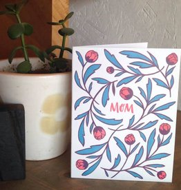 Frog and Toad Mom Flowers Card