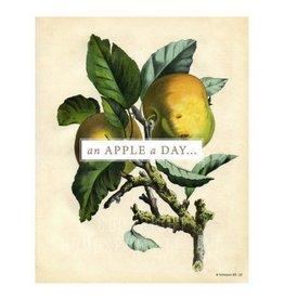 Homespun ATL An Apple A Day Art Print