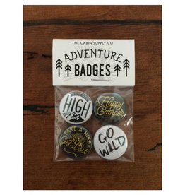 The Cabin Supply Co. Adventure Badges