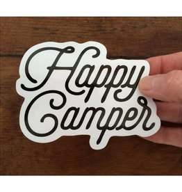 The Cabin Supply Co. Happy Camper Vinyl Sticker