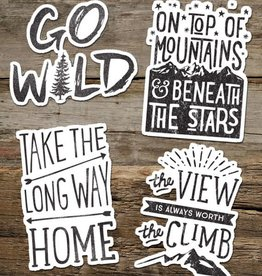 The Cabin Supply Co. Go Wild Vinyl Sticker