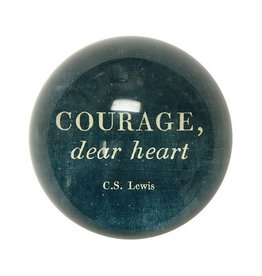 SugarBoo Designs Courage Dear Heart Paper Weight