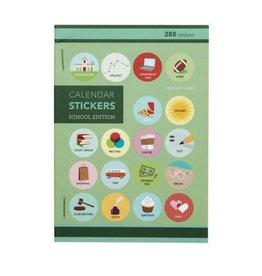 Girl Of All Work School Edition Calendar Stickers