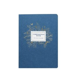 Girl Of All Work Indigo Composition Book