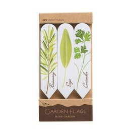 Girl Of All Work Herb Garden Adhesive Flags