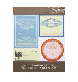 Girl Of All Work Apothecary Gift Labels