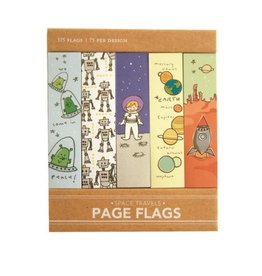 Girl Of All Work Space Travel Page Flags