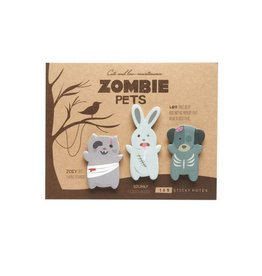 Girl Of All Work Zombie Pets Adhesive Flags