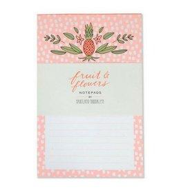Hachette Book Group Fruit & Flowers Notepads, Set/2