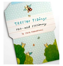 Hachette Book Group Tree Top Tidings Fold & Mail Stationery