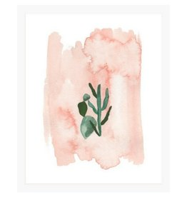 Pen + Pillar Pink Cactus Art Print