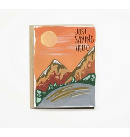 Pen + Pillar Sunset Mountains Greeting Card