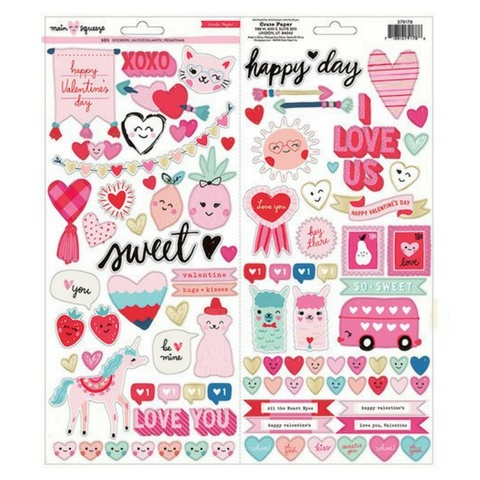 American Crafts Main Squeeze Large Sticker Sheet