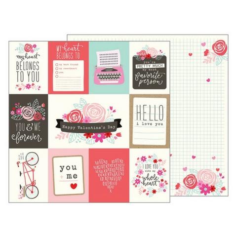American Crafts Valentine's Day Paper