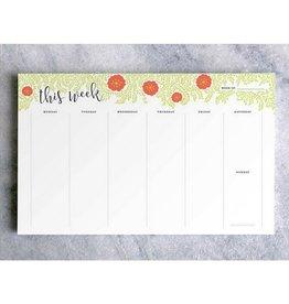 Favorite Story Weekly Planner Notepad