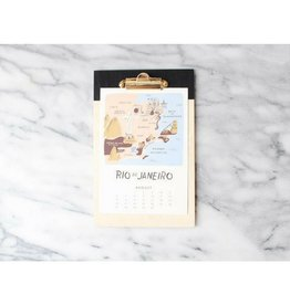 For The Host Painted Wood Clipboard, BLK