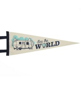 Seltzer Goods See The World Pennant