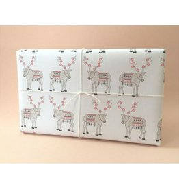 Hartland Brooklyn Reindeer Wrapping Sheets- 3 pack