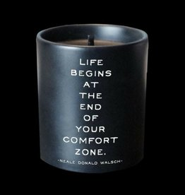 Quotable Life Begins Candle