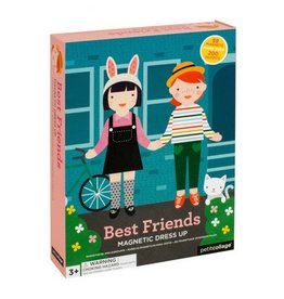 Petit Collage Best Friends Magnetic Dress Up