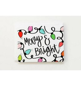 When It Rains Merry & Bright Christmas Cards