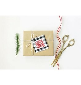 When It Rains Wonderful Time Gift Tags