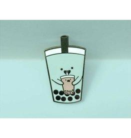 Crafted Van Bubble Tea Enamel Pin
