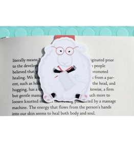 Crafted Van Knitting Sheep Jumbo Bookmark
