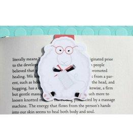 Crafted Van Knitting Sheep Jumbo Bookmark