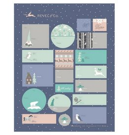 Revel & Co. Holiday Mix Sticker Sheets