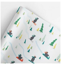 Revel & Co. Snow Bears Wrap