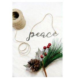 Highland Ridge Peace Christmas Ornament